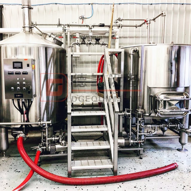 700L Craft Micro Brewery Equipment Complete Steam/electric Heating Beer Brewing System for Sale