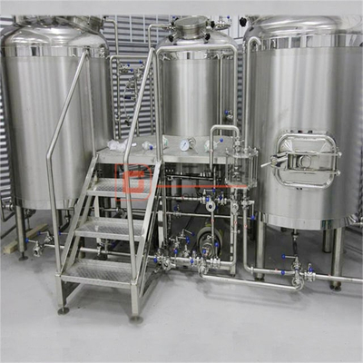3 vessel/tank food grade brewing system 10HL turnkey automatic brewery electric or steam brewhouse
