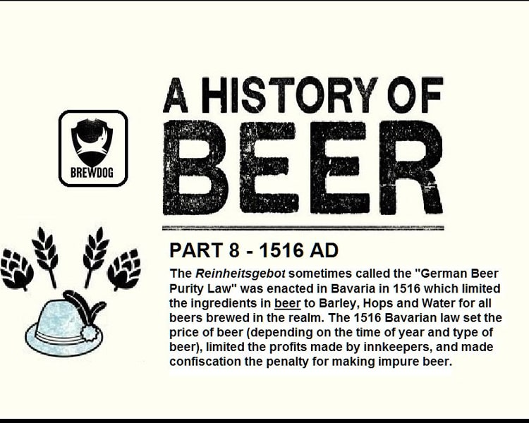 What is beer Reinheitsgebot?