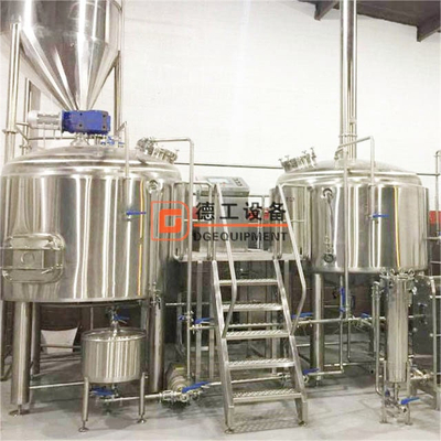 Turnkey 2000L beer brewing equipment to produce quality beer and breweries from DEGONG supplier