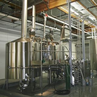 Customized Micro Brewery Equipment Commercial Used Large Professional Brewing System Beer Brewhouse From 100L To 5000L