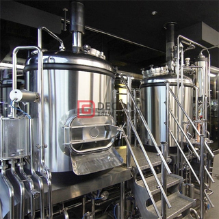 7 BBL Chinese Factory Supply Whole Set of Stainless Steel Commercial Beer Brewing System for Sale