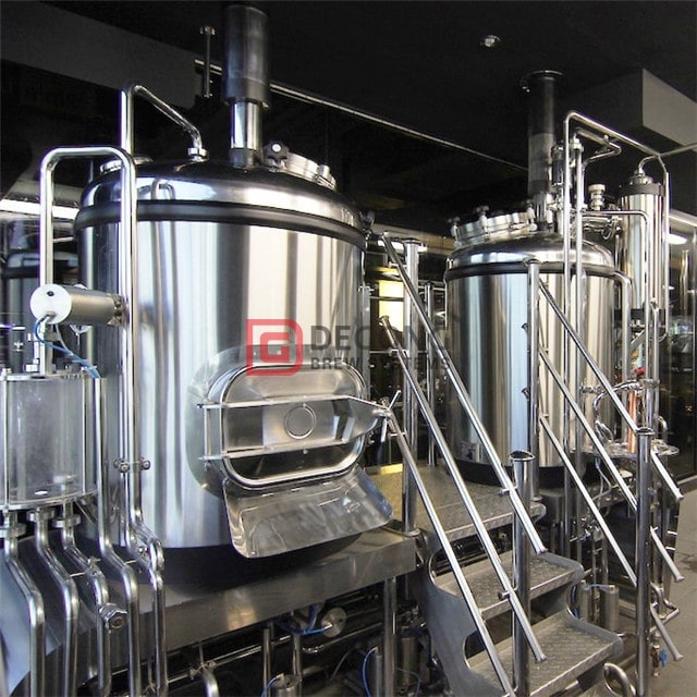 500L small scale brewing beer equipment food grade brewing tank used to make beer equipment