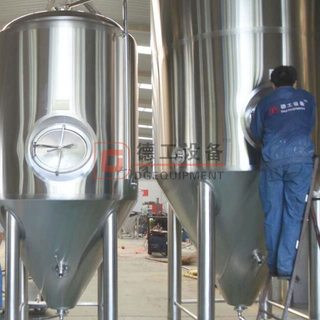 Fermenter stainless steel 304 5bbl 7bbl 10bbl 15bbl 20bbl 30bbl 40bbl 50bbl DEGONG brewing equipment manufacturer