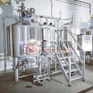 5 BBL Hand Craft Microbrewery Small Home Beer Brewing Equipment Installed in Restaurant/brewpub/hotel