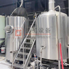 500L Nano Brewery System 2-vessel/3-vessel with Steam/electric Heating Stainless Steel Or Red Copper for Sale