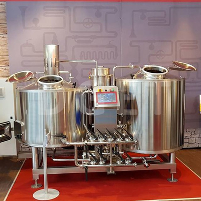 300L Small Home Brewed Self Brewing Beer Equipment Craft Micro Brewery Plant for Hotel