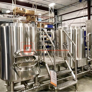 500L Complete Craft Beer Brewery Equipment Beer Mash Brew Kettle And Beer Fermenting System for Sale