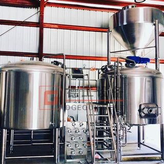 300L Beer Mashing System Electric Heating for Craft Brewery Equipment Turnkey System for Sale
