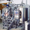 2000L Beer Brewing System 3-vessel Brewhouse with Steam Heating Double Wall Fermentation Tank for Sale
