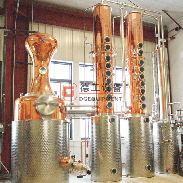 1000L per batch Alcohol distill machine fractional distillation column vodka still