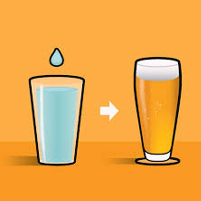 The effect of water on beer