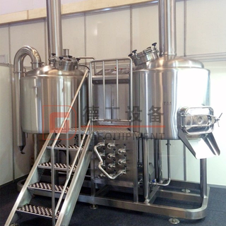 Stainless Steel 304 15hl Beer Brewhouse Fermenters BBT with Steam Heating for Sale