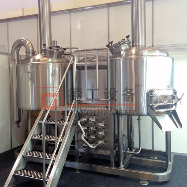 500L Craft Home Brewing System Micro Hotel Restaurant Used Beer Brewhouse Brewery Equipment for Sale