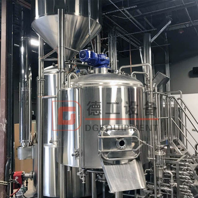 3BBL Home Beer Brew Equipment 2 Vessels Brewhouse System Sus304/316 Fermentation Tanks Online for Sale