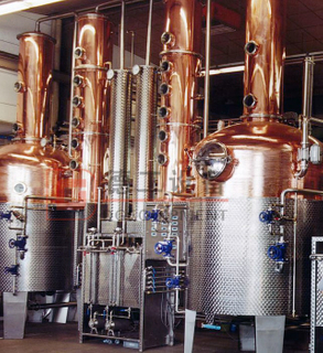 1000L Alembic Copper still Pot Brewing Equipment Steam Heated Distilling Pot Vodka Whisket Gin Distillation Equipment