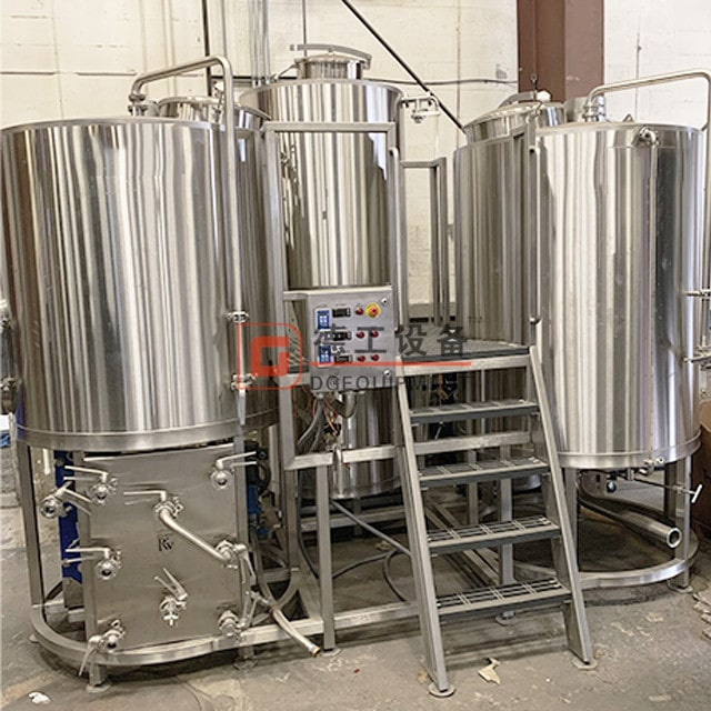 7bbl brewhouse equipment with Anti-slip platform best all in one electric brewing system