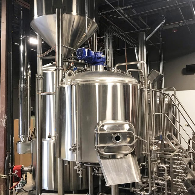 5BBL 10BBL Brewpub Used Micro Brewery Equipment Electric Free Combined Small Beer Brewing System