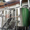 1000L Beer Brewery Equipment MBT+LWT+HWT Steam Heating Double Wall Fermenter for Sale