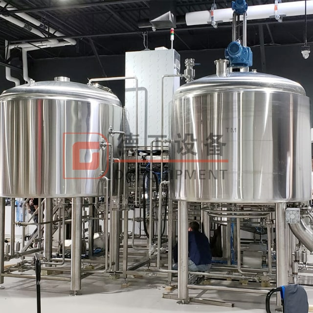 2500L Beer Brewery Equipment Pub Brewhouse System Vertical BBT Stainless Steel304/316 Fermentation Tank for Sale