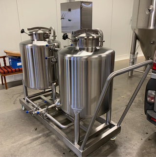 CIP Station Stainless Steel 304/316 CIP System with Wheel for Sale