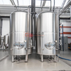 1000L Brewpub Installed Craft Brewery Equipment Stainless Steel Insulated Vertical Bright Beer Tank Horizontal Seving Tank