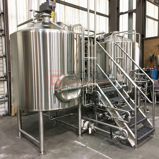 Craft beer industrial sanitary stainless steel 800L brewery system for brewpubs breweries