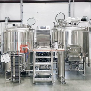 500L Customized Craft Brewing Equipment Electric Brew Kettle And Beer Fermenting System with CE Certification And PLC Control