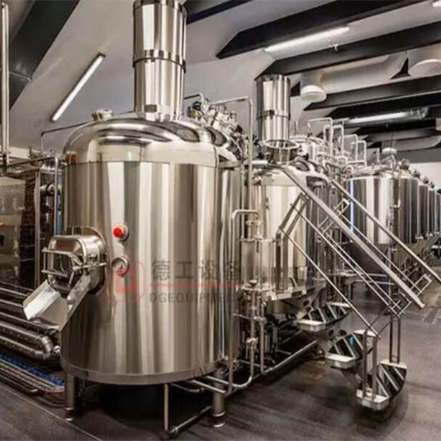 15BBl microbrewery equipment 2 vessel or 3 vessel brewhouse configuration with single or double size fermenters