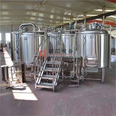 1000L Superior Quality Food Grade SUS304/316 Commercial Used Brewery Equipment for Beer Brewing