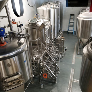 Germany TUV certificated superior quality food grade stainless steel beer brewing equipment micro brewery 100L-2000L