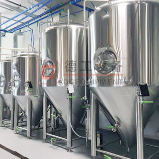 400L Conical-bottom Fermentation Tank for Beer Fermenting And Maturation Conical Shape Fermenter for Sale