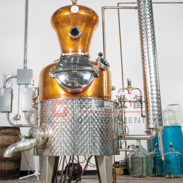 200gal Distillery Copper Dephlegmator Any Size still for Vodka Gin Whiskey for Sale