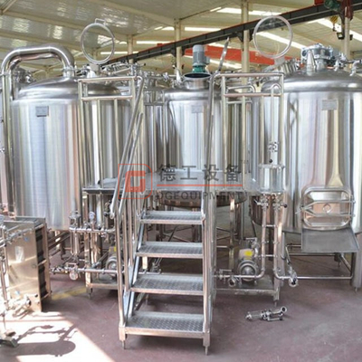 1000L middle size complete microbrewery turnkey equipment commercial automated brewing system