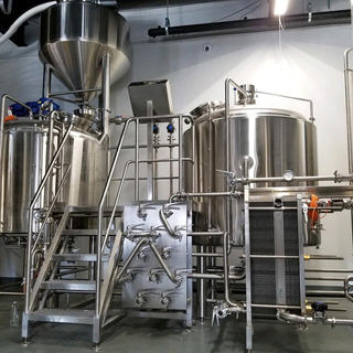 10BBL Free Combined 2/3/4 Vessel Beer Brewhouse Used for Commercial/craft Beer Brewing Equipment