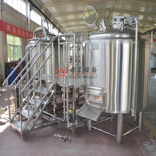 Installing a 2000 litres Brewery plant equipment in your building and brewing quality beer for customer