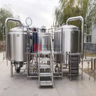 fully automated brewing system 2500L brewery equipment beer manufacturing for sale