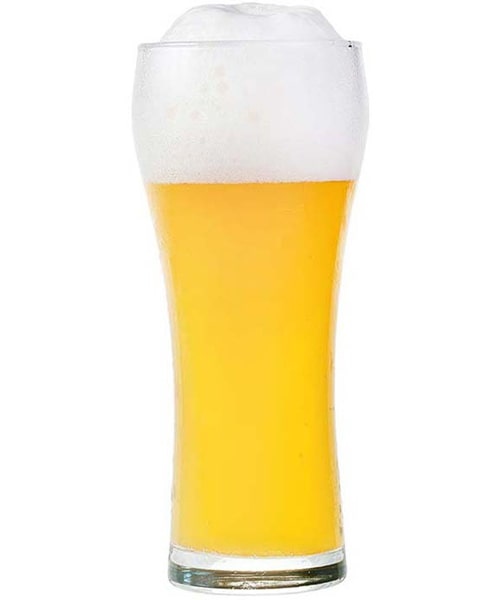 Beer is not white. Why is it called white beer