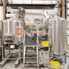 Turnkey nano brewery equipment 5bbl brews 2 batches per day DEGONG Manufacturer